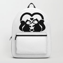Squirrels In-Love Backpack