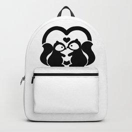Squirrels In-Love Backpack