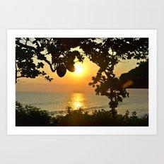 Serenity in Bali Art Print