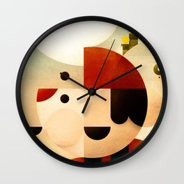 Lost in Marioland Wall Clock