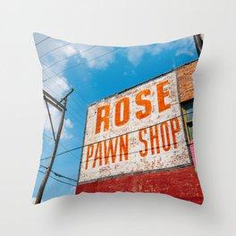 Downtown Tulsa V Throw Pillow