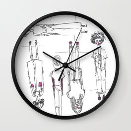 Topsy Turvey Wall Clock