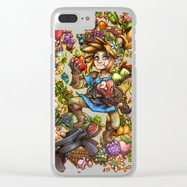 Master Chef Link Clear iPhone Case