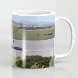Tug Motoring Down the Tamar* Coffee Mug