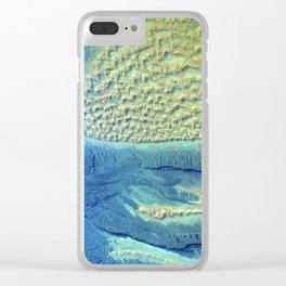 Tifernine Dunes Clear iPhone Case