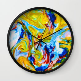 Milkblot No. 5 Wall Clock