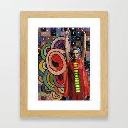 Light Spine Framed Art Print