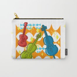 Sunny Grappelli String Jazz Trio Composition Carry-All Pouch