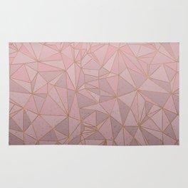 Pink Plexus Style Rug