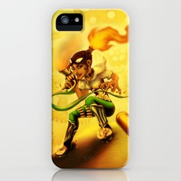 Flame Bane iPhone Case
