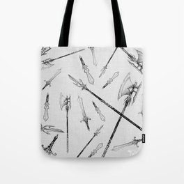 Twisted Props: Forms of Maddock Tote Bag