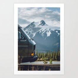 Mountain Life. Art Print
