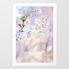 Water-colour Spring #1 Art Print