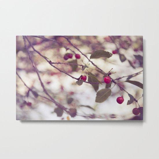 Cherry Tree Metal Print