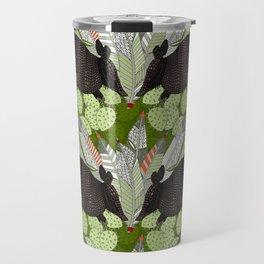 native armadillos green Travel Mug