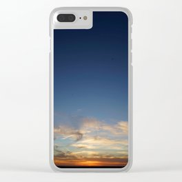 Orbs at Sunset Clear iPhone Case
