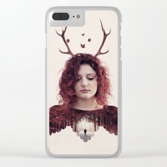 Embrace Your Strageness Clear iPhone Case