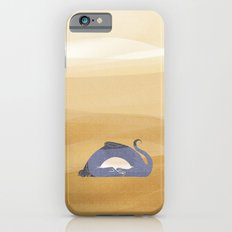 little dragon is sleeping in the sand illustration Slim Case iPhone 6s