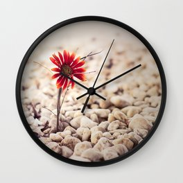 Growing Through Wall Clock