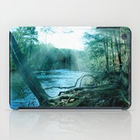 woods iPad Cases featuring woods  by mark ashkenazi