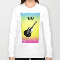 woodstock Long Sleeve T-shirts featuring Woodstock by Nicko-Suave Art