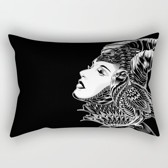 Maleficent Tribute Rectangular Pillow