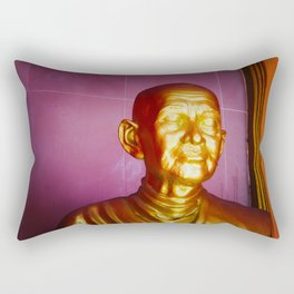 Statue in Ayutthaya Rectangular Pillow