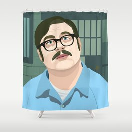 Mindhunter Ed Kemper Shower Curtain