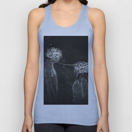 The chaos love. Unisex Tank Top