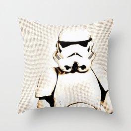 Trooper 3 Throw Pillow