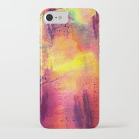 tie dye iPhone & iPod Cases featuring Tie Dye by Sarah Maybin