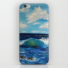 Waves of change iPhone & iPod Skin