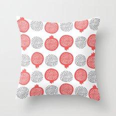 Pomegranate Throw Pillow