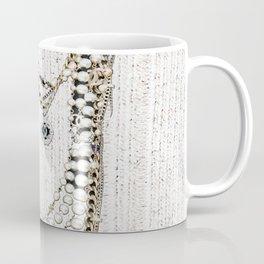 vintage white gold necklace Coffee Mug