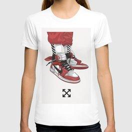 Off White Jordan 1 Poster T-shirt