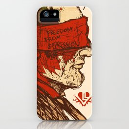 Freedom from Oppression  iPhone Case
