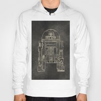 r2d2 Hoodies featuring R2D2 by LindseyCowley