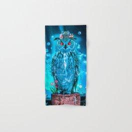 Sapphire Owl Hand & Bath Towel