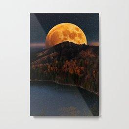 autumn night Metal Print