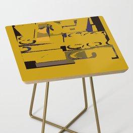 Mustard Field Side Table