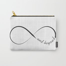 Infinity and beyond minimalistic symbol Carry-All Pouch