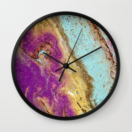Floating Feather Wall Clock