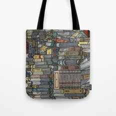 Closed Books Tote Bag