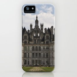French castle, Chambord, Loire valley iPhone Case