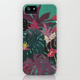 Tropical Tendencies iPhone Case