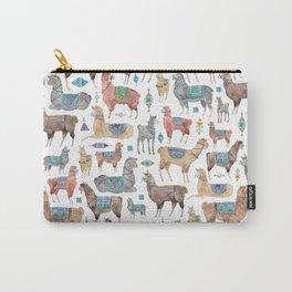 Llamas and Alpacas Carry-All Pouch
