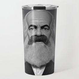Karl Marx Travel Mug