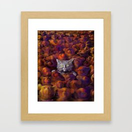 Leaves of Bears Framed Art Print