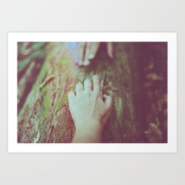 Follow me II Art Print