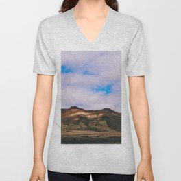 Sky Above Me Earth Below Me Unisex V-Neck